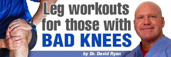 Leg Workouts For Individuals With Bad Knees