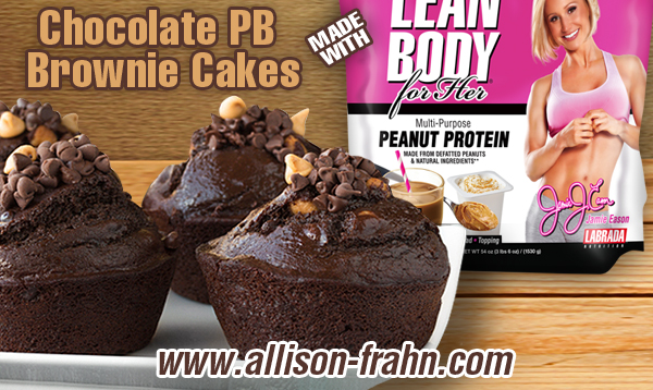 Chocolate Peanut Butter Brownie Cakes With Jamie Eason S