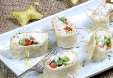 Quick Protein Holiday Roll-ups