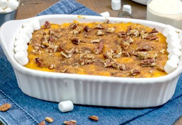 Family-Friendly Protein Sweet Potato Casserole