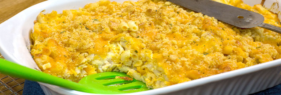 Mac & Cheese Chicken Breast Casserole