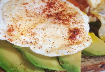 Healthy Egg and Avocado Toast
