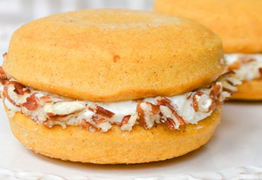 Tempting Carrot Cake Protein Whoopie Pies
