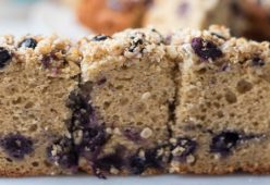 Blueberry Cashew Breakfast Bars
