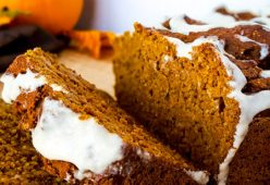 Delicious Pumpkin Protein Bread