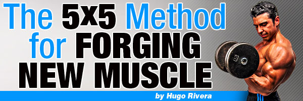 The 5x5 Method For Forging New Muscle