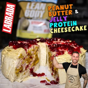 Peanut Butter & Jelly Protein Cheesecake Labrada