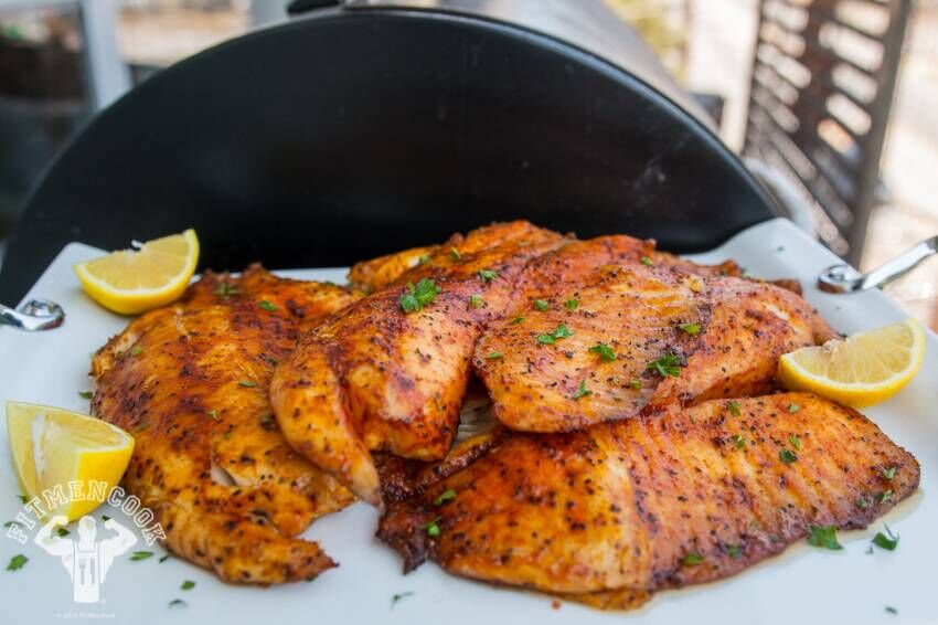 Spicy Tilapia Meal Prep