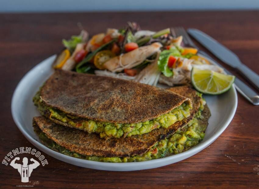 Quick and Easy Guacamole Quesadillas