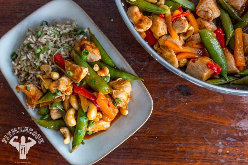 Spicy and Light Kung Pao Chicken Meal Prep