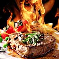 SteakFlaming
