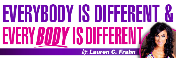 c3280481921 Everybody is Different and Every Body is Different