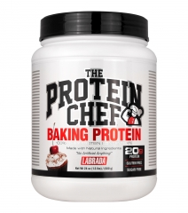 THE PROTEIN CHEF BAKING PROTEIN
